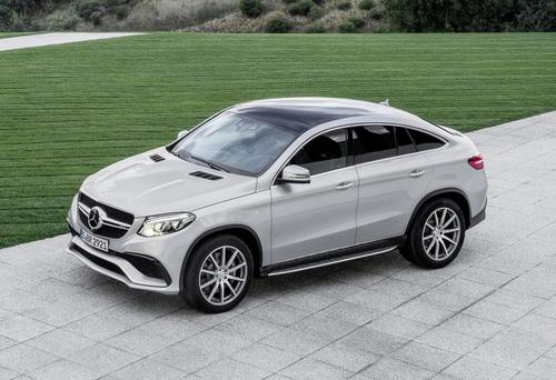 Фото автомобиля Mercedes-Benz GLE-Класс W166/C292, ракурс: 45 цвет: серебряный