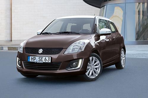 Фото автомобиля Suzuki Swift 4 поколение [рестайлинг], ракурс: 45 цвет: коричневый