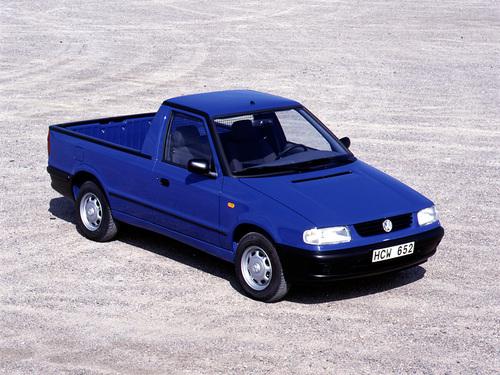 Фото автомобиля Volkswagen Caddy 2 поколение, ракурс: 315 цвет: синий