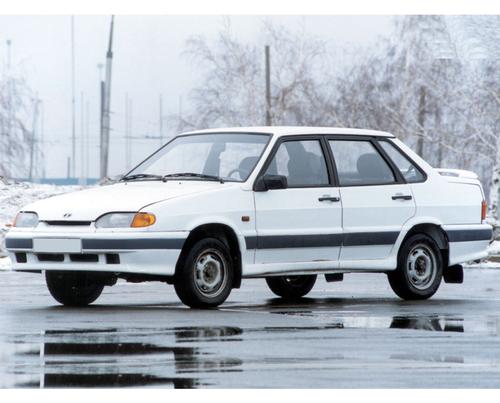 Фото автомобиля ВАЗ (Lada) 2115 1 поколение, ракурс: 45 цвет: белый
