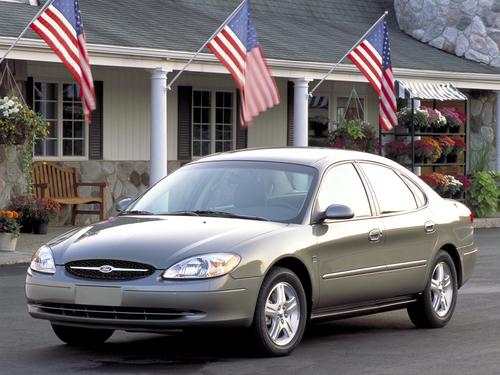 Фото автомобиля Ford Taurus 4 поколение, ракурс: 45
