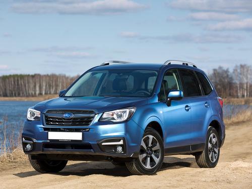 Фото автомобиля Subaru Forester 4 поколение [рестайлинг], ракурс: 45 цвет: синий