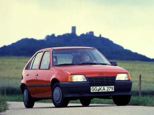 Фото автомобиля Opel Kadett E, ракурс: 315