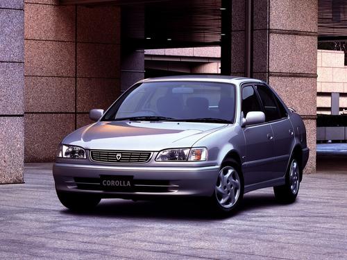 Фото автомобиля Toyota Corolla E110 [рестайлинг], ракурс: 45