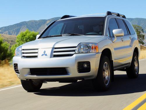 Фото автомобиля Mitsubishi Endeavor 1 поколение, ракурс: 45