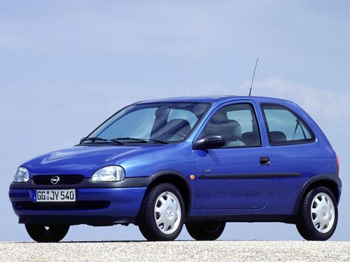 Фото автомобиля Opel Corsa B [рестайлинг], ракурс: 45