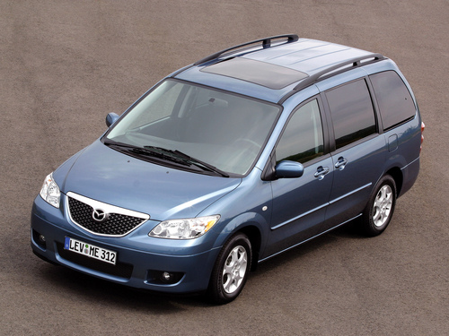 Фото автомобиля Mazda MPV LW [рестайлинг], ракурс: 45