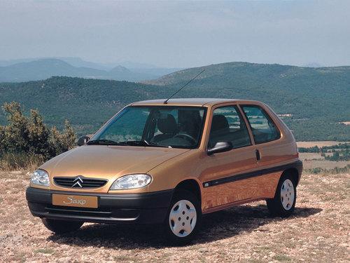 Фото автомобиля Citroen Saxo 2 поколение, ракурс: 45