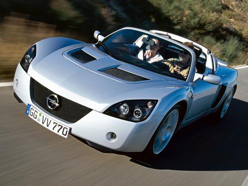 Фото автомобиля Opel Speedster 1 поколение, ракурс: 45