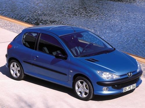 Фото автомобиля Peugeot 206 1 поколение, ракурс: 315