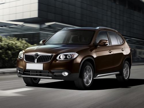 Фото автомобиля Brilliance V5 1 поколение, ракурс: 45 цвет: коричневый