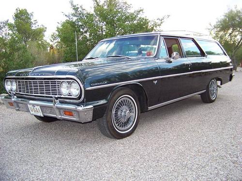 Фото автомобиля Chevrolet Chevelle 1 поколение, ракурс: 45