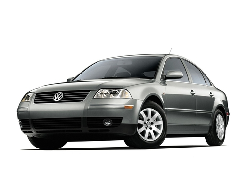 Фото автомобиля Volkswagen Passat B5.5 [рестайлинг], ракурс: 45 цвет: серый