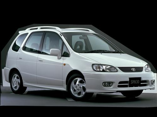 Фото автомобиля Toyota Corolla Spacio 1 поколение [рестайлинг], ракурс: 315