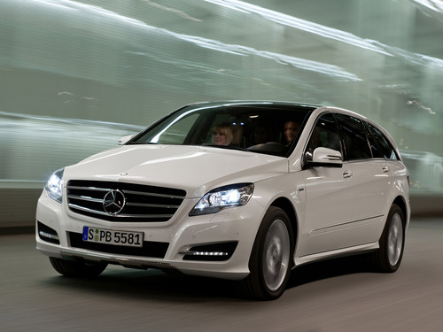Фото автомобиля Mercedes-Benz R-Класс W251 [рестайлинг], ракурс: 45