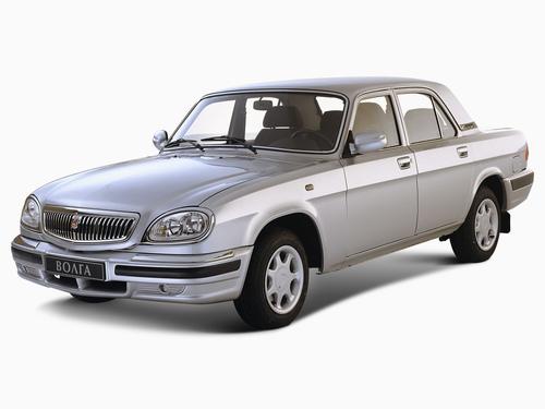 Фото автомобиля ГАЗ 31105 Волга 1 поколение, ракурс: 45 цвет: серебряный