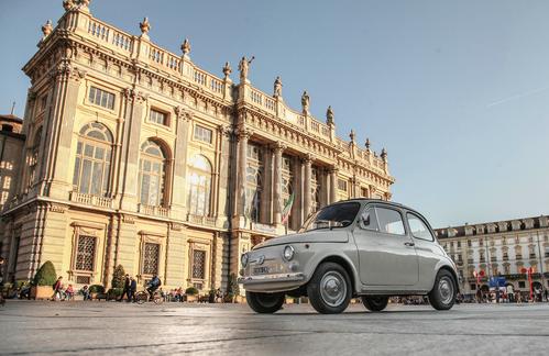Фото автомобиля Fiat 500 1 поколение, ракурс: 45