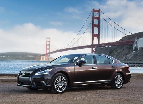 Фото автомобиля Lexus LS 4 поколение [2-й рестайлинг], ракурс: 45 цвет: бронзовый