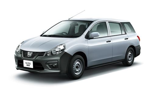Фото автомобиля Nissan AD Y12 [рестайлинг], ракурс: 45 цвет: серебряный
