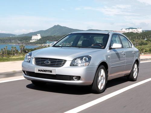 Фото автомобиля Kia Magentis 2 поколение, ракурс: 45