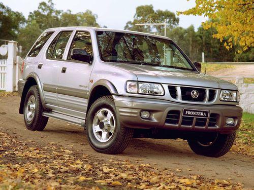 Фото автомобиля Holden Frontera 2 поколение, ракурс: 315