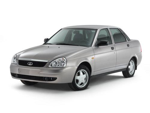 Фото автомобиля ВАЗ (Lada) Priora 1 поколение, ракурс: 45 цвет: серый