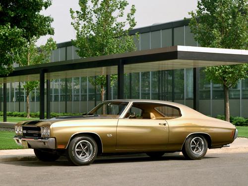 Фото автомобиля Chevrolet Chevelle 2 поколение [2-й рестайлинг], ракурс: 45