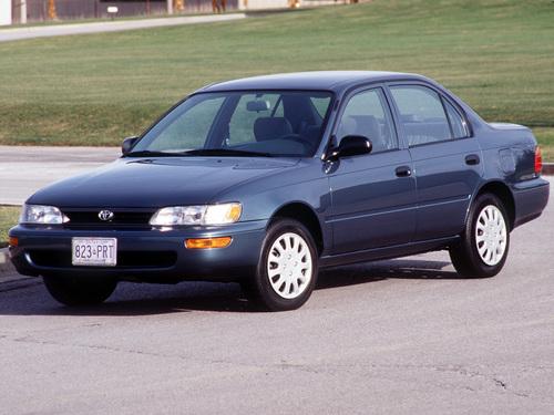 Фото автомобиля Toyota Corolla E100, ракурс: 45 цвет: синий