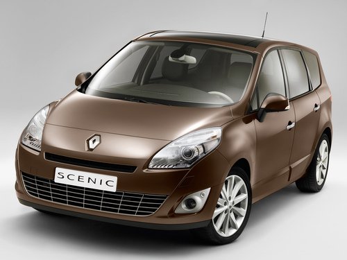 Фото автомобиля Renault Scenic 3 поколение, ракурс: 45