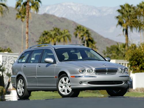 Фото автомобиля Jaguar X-Type 1 поколение, ракурс: 45