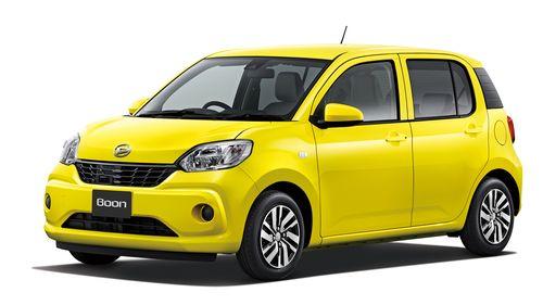 Фото автомобиля Daihatsu Boon 3 поколение, ракурс: 45 цвет: желтый