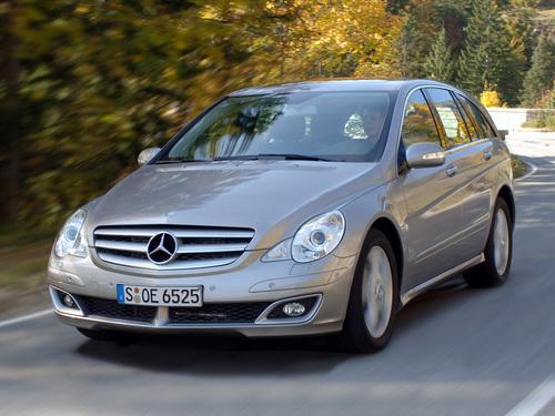 Фото автомобиля Mercedes-Benz R-Класс W251, ракурс: 45