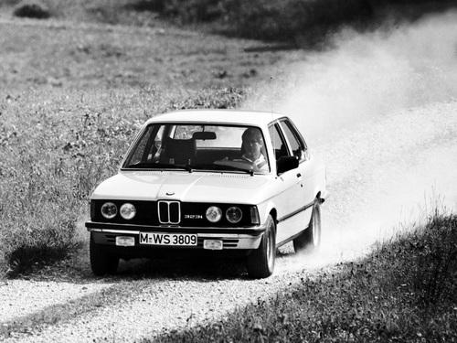 Фото автомобиля BMW 3 серия E21, ракурс: 45