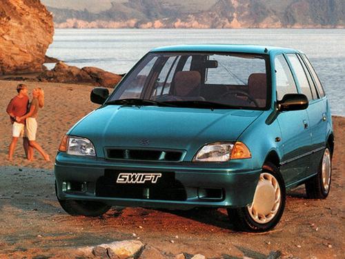 Фото автомобиля Suzuki Swift 2 поколение [рестайлинг], ракурс: 45