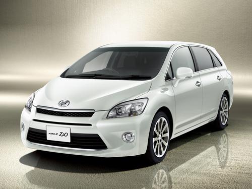 Фото автомобиля Toyota Mark X Zio 1 поколение [рестайлинг], ракурс: 45