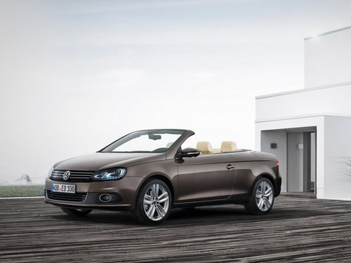 Фото автомобиля Volkswagen Eos 1 поколение [рестайлинг], ракурс: 45