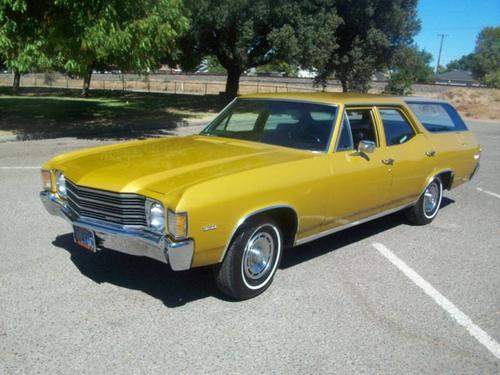 Фото автомобиля Chevrolet Chevelle 2 поколение [4-й рестайлинг], ракурс: 45