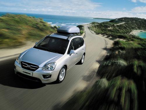 Фото автомобиля Kia Carens 3 поколение, ракурс: 45