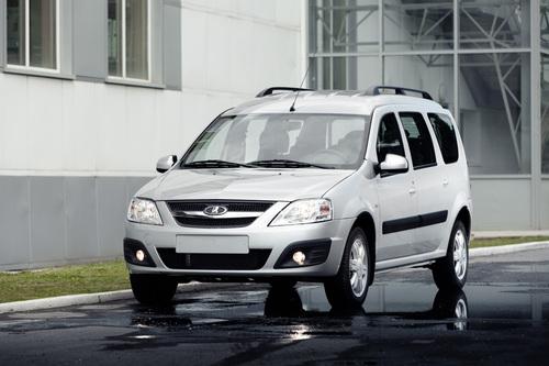 Фото автомобиля ВАЗ (Lada) Largus 1 поколение, ракурс: 45 цвет: белый