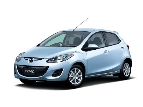 Фото автомобиля Mazda Demio DE [рестайлинг], ракурс: 45