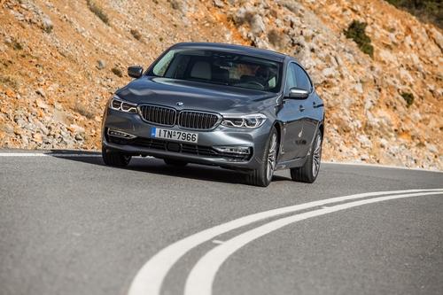 Фото автомобиля BMW 6 серия G32, ракурс: 45 цвет: серый