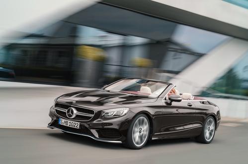 Фото автомобиля Mercedes-Benz S-Класс W222/C217/A217 [рестайлинг], ракурс: 45 цвет: коричневый