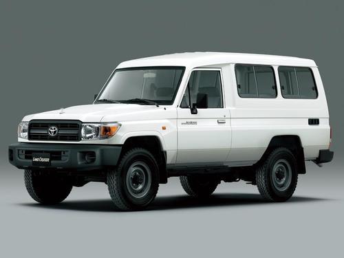 Фото автомобиля Toyota Land Cruiser J70 [3-й рестайлинг], ракурс: 45