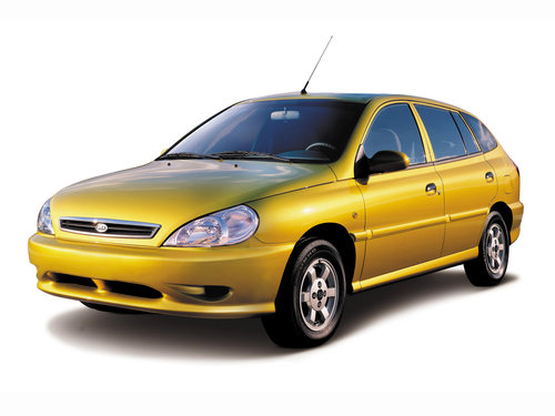 Фото автомобиля Kia Rio 1 поколение, ракурс: 45