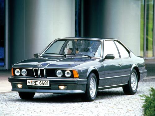 Фото автомобиля BMW 6 серия E24 [2-й рестайлинг], ракурс: 45
