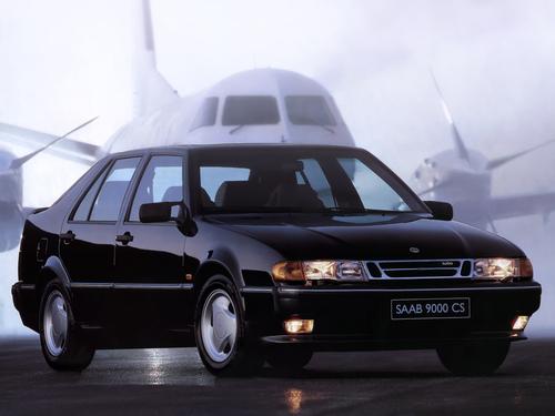 Фото автомобиля Saab 9000 2 поколение, ракурс: 315