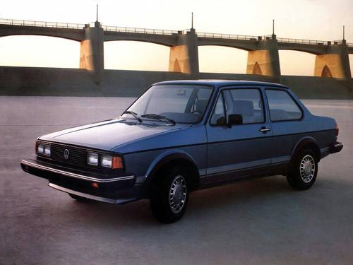 Фото автомобиля Volkswagen Jetta 1 поколение, ракурс: 45