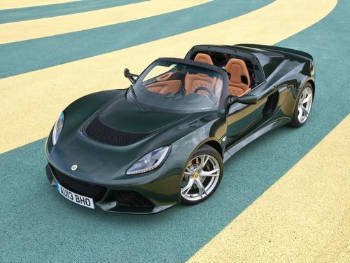 Фото автомобиля Lotus Exige Serie 3, ракурс: 45 цвет: зеленый