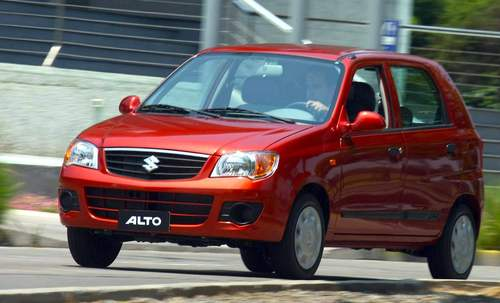 Фото автомобиля Maruti Alto 1 поколение, ракурс: 45