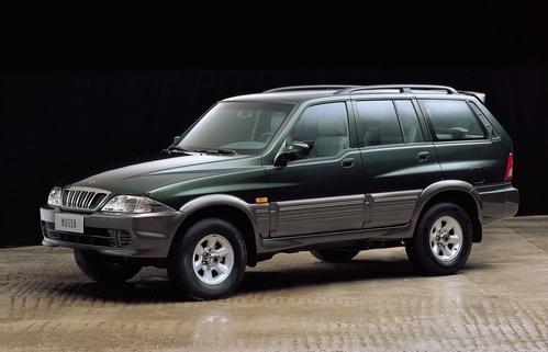 Фото автомобиля SsangYong Musso 1 поколение [рестайлинг], ракурс: 45